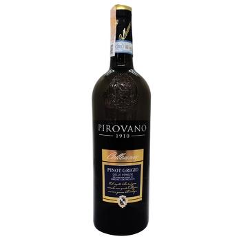 Вино Pirovano Pinot Grigio delle Venezie белое сухое 12% 0,75л - купить, цены на Novus - фото 1