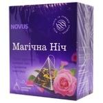 Novus Magic Night Mixture of Black and Green Tea with Grapes Aroma 2g*15pcs