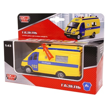 Technopark toy police car - buy, prices for Metro - photo 1