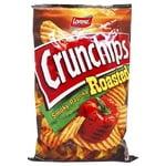 Чипсы картофельные Lorenz Crunchips Roasted Копченая паприка волнистые 140г