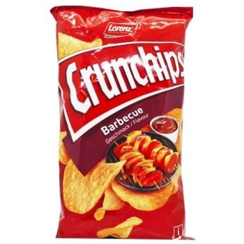 Чіпси картопляні  Lorenz Crunchips Барбекю 75г