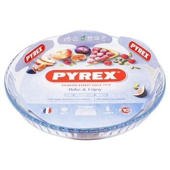 Форма Pyrex Bake&Enjoy форма стеклянная круглая 25см 1,1л