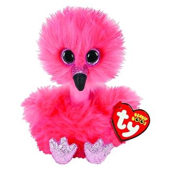 Игрушка Beanie Boo's 36381 Фламинго детская мягконабивная 15см