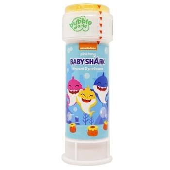 Мыльные пузыри Dulcop Baby Shark 60мл