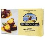 Кусочки осьминога Mariscadora в маринаде ж/б 120мл