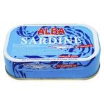 Alba Food in Oil Sardines 125g