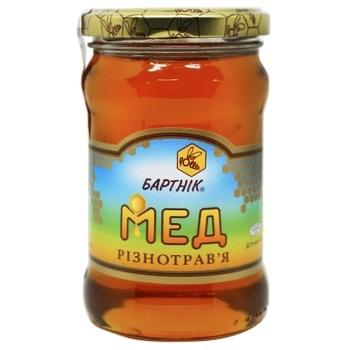 Мед цветочный разнотравье 400г Бартник - купить, цены на СитиМаркет - фото 1