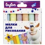 Мелки для рисования Dream makers Буба 6шт