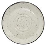 Блюдце Manna Ceramics керамічне бежеве 15,5см