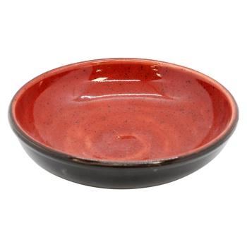 Салатник Manna Ceramics керамічний червоний 450мл