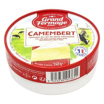 Сыр Grand Fermage Камамбер 44% 240г
