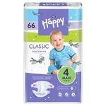 Подгузники детские Bella Baby Happy Classic maxi 12-25кг 66шт