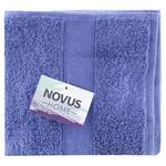 Рушник махровий Novus Home синій 70х140см