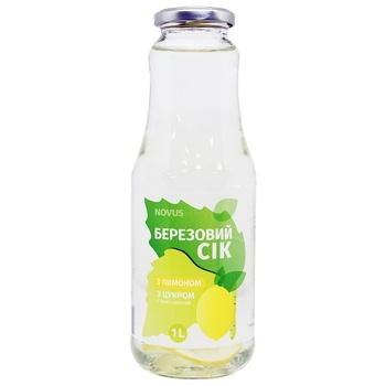 Сок Novus березовый с лимоном и сахаром 1л - купить, цены на Novus - фото 2