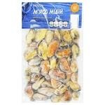 Novus Boiled Frozen Mussles 250g