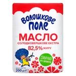 Масло Волошкове Поле Екстра солодковершкове 82,5% 200г