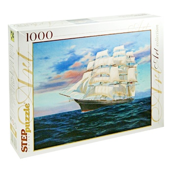 Step Puzzle Ship Puzzles 1000 Items