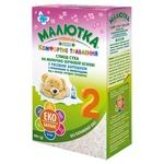 Суха суміш Малютка молочна швидкого приготування 0-6міс 350г