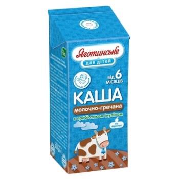 Каша Яготинское для детей молочно-гречневая 2% 200г