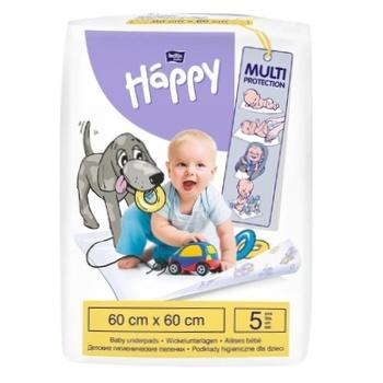 Пелюшки Bella Happy Baby гігієнічні 60х60см 5шт