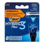 Картриджи для бритья BIC Flex 3 Hybrid 8шт