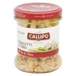 Тунец Callipo кусочками в оливковом масле 170г