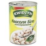 Квасоля Kwidzyn біла консервована 400г