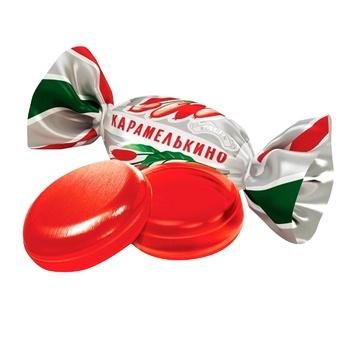 Roshen Karamelkino Barberis Lollipop Caramel