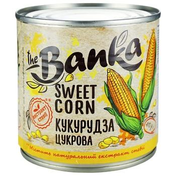 Кукурудза The Banka цукрова стерилізована 410г