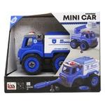Diy Spatial Creativity LM9023 Police Car Constructor