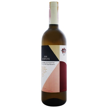 Вино белое Винодельческое хозяйство Князя П.Н.Трубецкаго Алиготе натуральное виноградное столовое сортовое сухое 12% 750мл