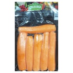 Морква Славянка свіжа чищена мита ціла 500г
