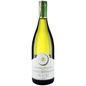 Вино Brocard Chablis Cru Vau de Vey белое сухое 13% 0,75л