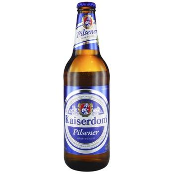 Kaiserdom Pilsener Herb-Wurzig light beer 4,7% 0,5l