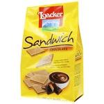 Вафли Loacker Sandwich Chocolate с шоколадом 200г