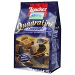 Вафлі-кубики Loacker Quadratini Chocolate з шоколадною начинкою 125г