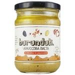 Паста арахісова Burunduk з морською сіллю, ваніллю, корицею та родзинками 120г