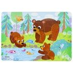 DoDo R300184 Bears With Frame Puzzles