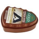 Губка Gold Care міні коричнева для надання блиску взуттю