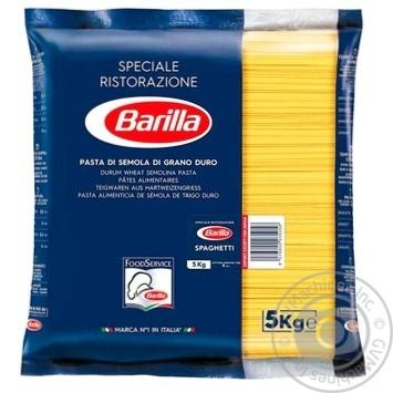Изделия макаронные Barilla спагетти 5кг