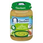 Суп-пюре Gerber з зеленими овочами та гречкою 190г