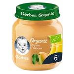Пюре Gerber Organic Груша і банан 125г
