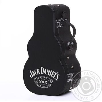 Jack Daniel's Tennessee Old No.7 Whiskey 40% 0,7l in a guitar case - buy, prices for CityMarket - photo 2