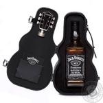 Віскі Jack Daniel's Tennessee Old No.7 40% 0,7л у футлярі гітари
