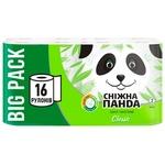 Туалетная бумага Сніжна Панда Классик 16 рулонов