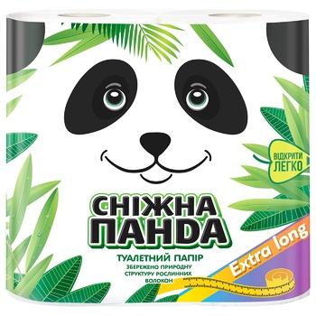 Папір туалетний Сніжна панда Extra Long 4шт