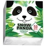 Серветки Snow Panda одношарові 24см*50шт