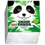 Серветки Snow Panda одношарові 24см*100шт