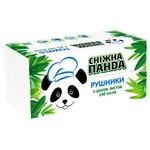 Рушники паперові Сніжна Панда двошарові 140шт