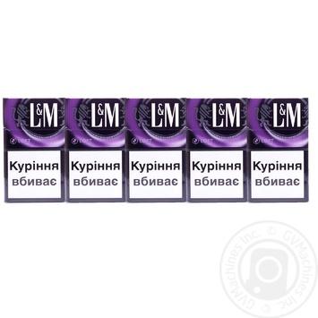 Сигареты L&M Loft Mix 20шт - купить, цены на Фуршет - фото 2